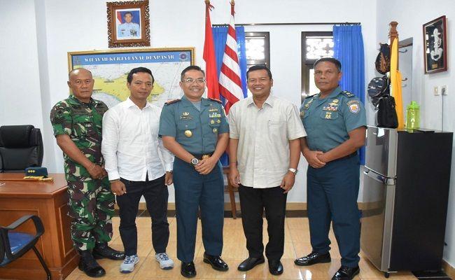 Taekwondo TNI AL, Dinasty TNI AL, TI Bali, Lanal Denpasar, Audensi,