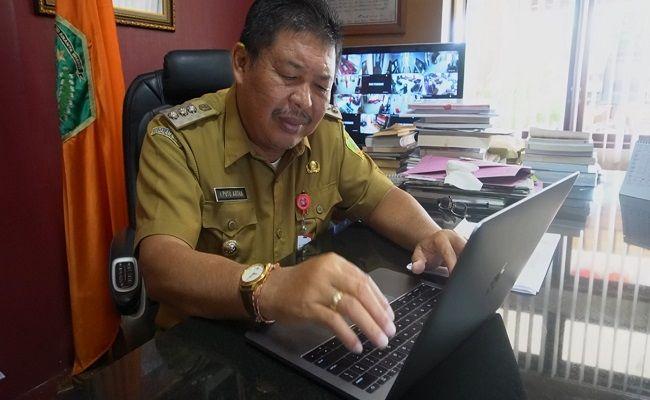 bupati artha, sensus penduduk 2020, sensus online, bps jembrana, pemkab jembrana