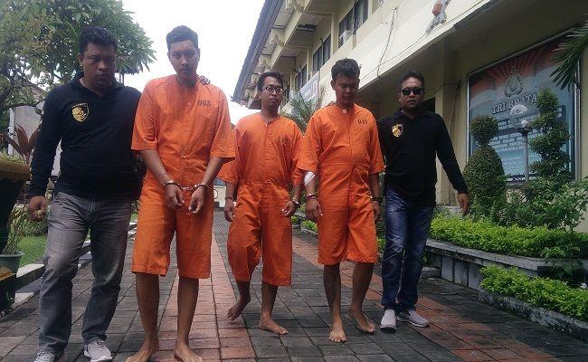 mabuk berat, keroyok korban, masuk ugd, tiga pemuda denpasar, tiga pemuda disel, polresta denpasar