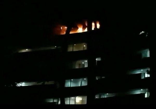 musibah kebakaran, belum sebulan, hotel inna grand bali beach, hotel terbakar, bpbd bali
