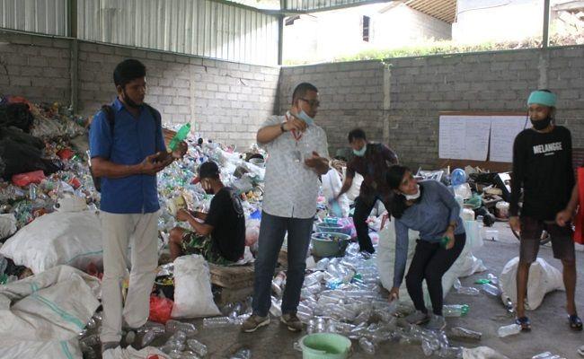 komunitas sampah, desa siangan, dana ratusan juta