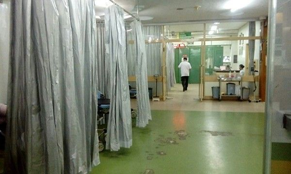 wabah corona, virus corona, pasien corona, ruang isolasi penuh, ruang flamboyan, pasien covid-19, rsup sanglah