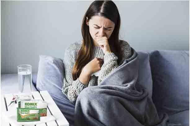 wabah corona, pandemi covid-19, komix herbal, redakan batuk