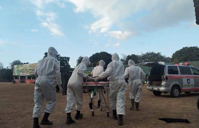 pandemi covid-19, hari raya galungan, kabar baik, angka sembuh naik, pasien covid-19