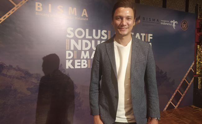 Christian Sugiono, saat wawancara di Kuta, Rabu (14/10)