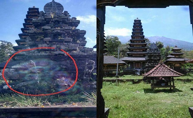 fenomena gaib, mistis, Pura Taman Sari, Naga Gombang, Taman Sari Karangasem, lontar kuno, Tri Khayangan, Pura Besakih, Pura Besar,