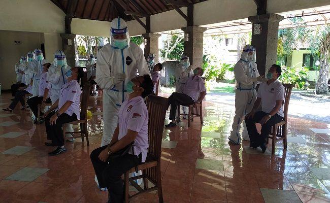 covid-19, komisioner KPU Jembrana, positif Covid-19, uji swab, PCR, Satgas Penanganan Covid-19, Pemkab Jembrana,