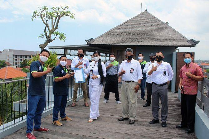 new normal, frii bali echo beach hotel, resmi terverifikasi, protokol kesehatan