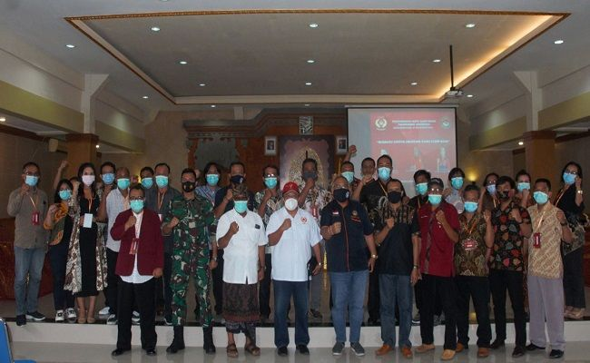 Taekwondo Indonesia, TI Bali, TI Denpasar, Muskotlub TI Denpasar, Ngurah Harta, Sandi Murti, Lanal Denpasar, Mabesal, TNI AL, aklamasi, KONI Denpasar,