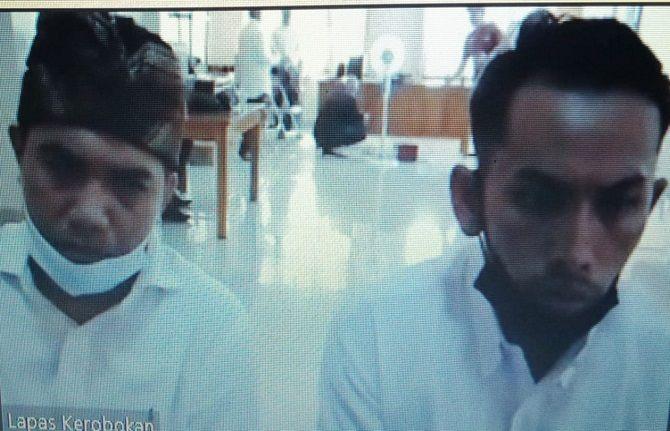 kasus narkoba, tempel sabu, duo sahabat, sidang tuntutan, 13 tahun penjara, pn denpasar