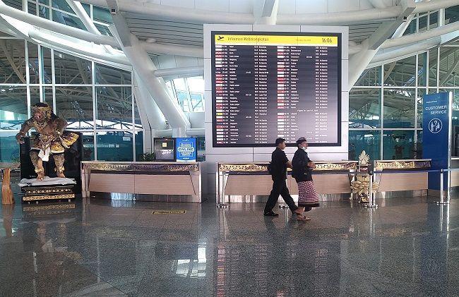 pandemi covid-19, bandara ngurah rai, penerbangan internasional, katagori dan syarat, penerbangan internasional dibuka