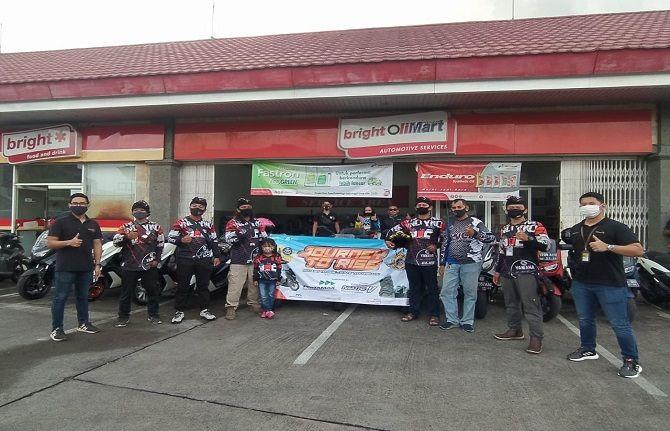 tour bali - ntt, ynci chapter denpasar, lima rider, ketangguhan pertamina, pertamina endura matic v