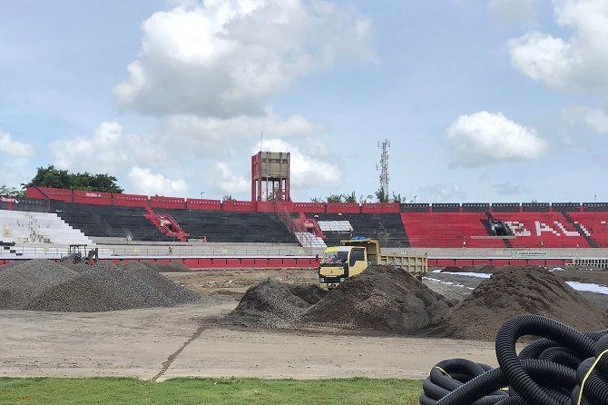 kadispora bali, renovasi stadion, stadion piala dunia, renovasi lanjut terus