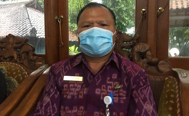 Kepala Disperindag Karangasem, I Wayan Sutrisna