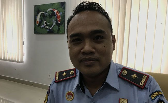 Kepala Bapas Kelas II Karangasem Kadek Dedy Wirawan Arintama.