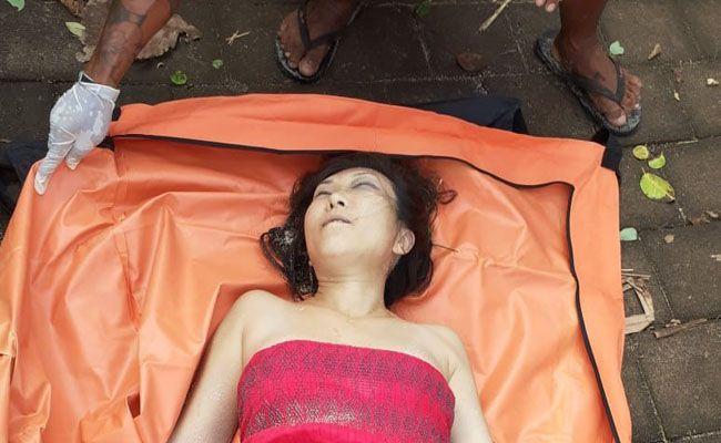 Grace Wei Huang, warga AS yang tewas diduga tergelincir dari tebing setinggi 20 meter ke Pantai Bingin, Pecatu, Kuta Selatan.