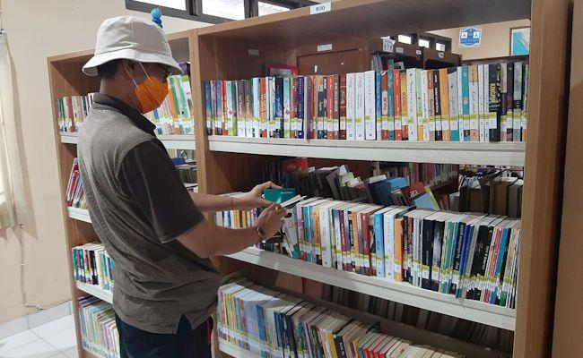 Ilustrasi, perpustakaan daerah di Bali.