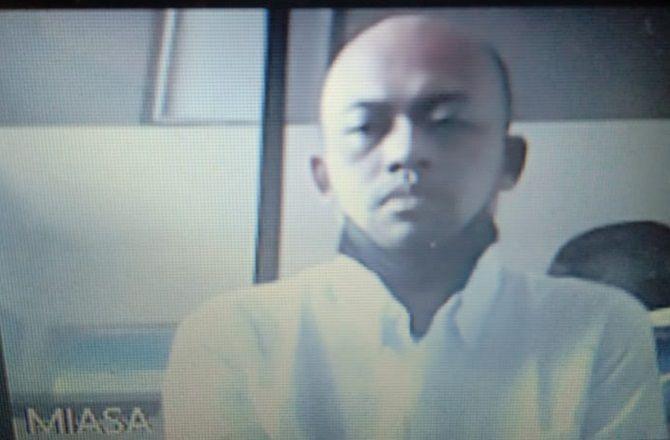 kasus narkoba, ketagihan sabu, sopir freelance, tamatan d1 pariwisata, terancam 12 tahun, pn denpasar