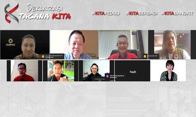 kolaborasi komunitas, komunitas indonesia timur, program tagana kita
