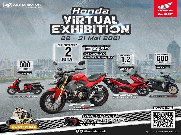 astra motor bali, promo keren, 10 hari, honda virtual exhibition, pembelian motor baru