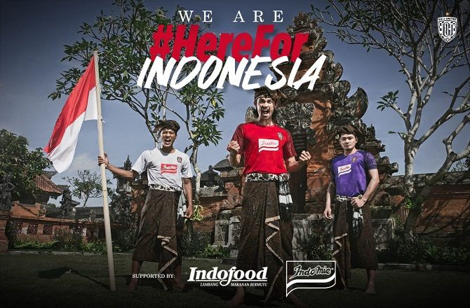 bali united, afc cup, jersey anyar, indofood