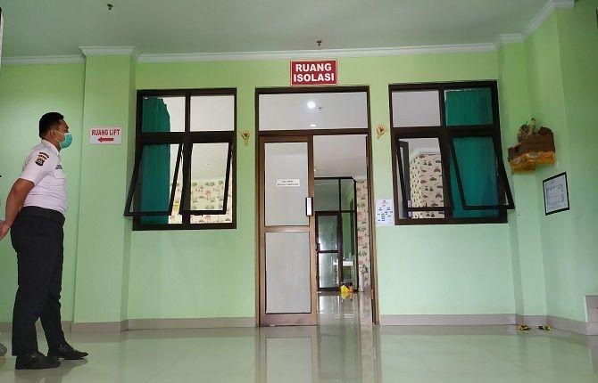 kasus covid-19, covid-19 melandai, rsu negara, pasien covid-19
