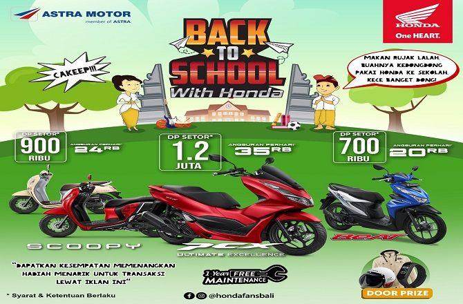 promo back to school, astra motor bali, beli motor makin hemat