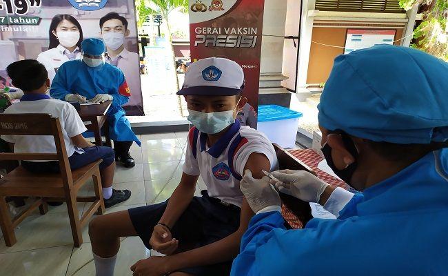 program vaksinasi nasional, Pemkab Jembrana, OTG, Diskes Jembrana, protokol kesehatan, pasien Covid, warga belum divaksin,