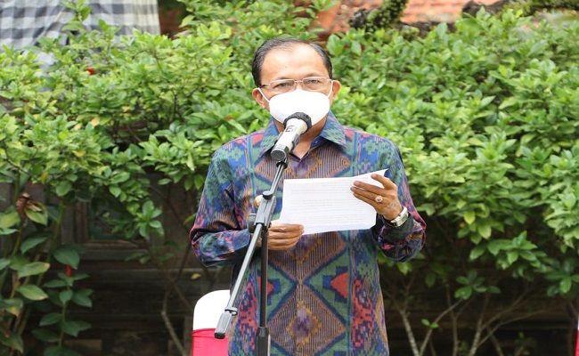 PPKM, PPKM Darurat diperpanjang, Bantuan sosial, warga terdampak, Gubernur Bali, Wayan Koster,