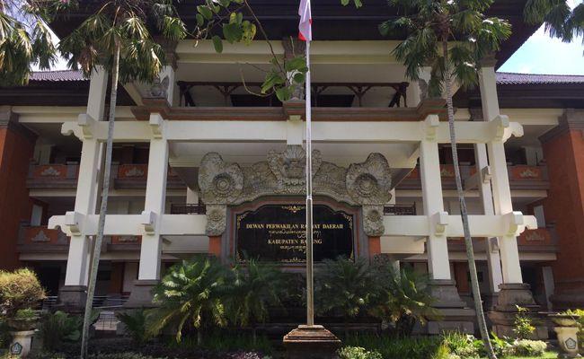 Ketua DPRD Badung, Putu Parwata, tertular Covid-19, DPRD Badung lockdown, tutup,
