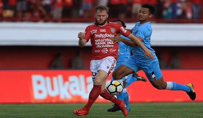 Melvin Platje, kembali ke Bali, komitmen, Bali United,