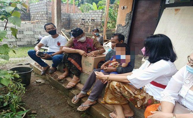 Putu Edwin Candra Nata, bocah yatim, KPPAD Bali, ibu nikah lagi, ayah meninggal, kakek meninggal, hidup sebatang kara, kisah miris,