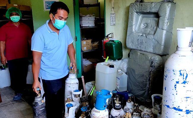 tata kelola oksigen, distribusi oksigen, krisis oksigen, Buleleng, Bali,