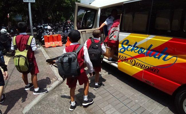 penundaan pembayaran seragam, Disdikpora Denpasar, Pemkot Denpasar, pandemi Covid-19, sekolah daring,