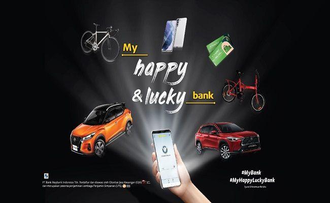 program undian berhadiah, My Happy & Luvky Bank, Mybank Indonesia,  PT Bank Maybank Indonesia,