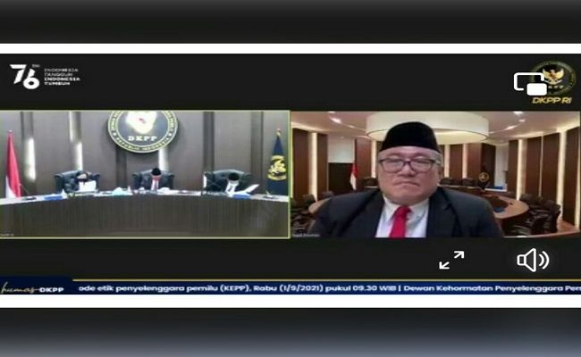 pelanggaran kode etik, pelanggaran KEPP, DKPP RI, Bawaslu Bali, sidang putusan DKPP, KPU Bali,