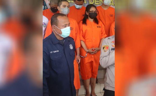 Pasutri Rommy, Putri, pasutri, pengedar narkoba, motif, uang penghasilan, Denpasar,