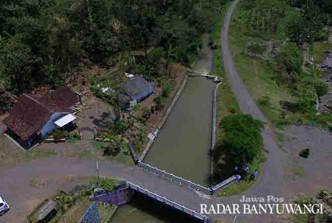 LOKASI LOMBA: Di area Dam Gembleng ini peserta lomba bisa menghasilkan karya foto terbaik.
