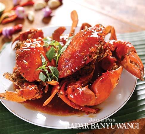LEZAT: Aneka pilihan menu seafood ala Fikhi Friviandi. Tempatnya yang klasik cocok untuk berbagai acara.