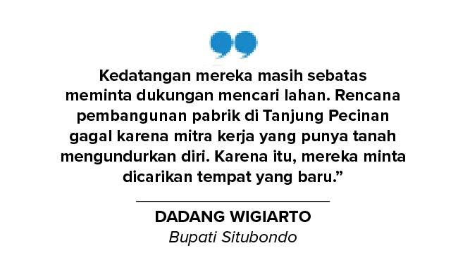 PT. KGS Tetap Berinvestasi Pabrik Kilang Minyak di Situbondo