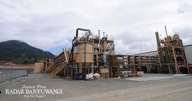 PINDAH NPWP: PT BSI mengandalkan produksi emas dari tambang Tujuh Bukit Operation di Desa Sumberagung, Pesanggaran. Mulai bulan depan, pembayaran pajak dilakukan di KPP Pratama Banyuwangi.