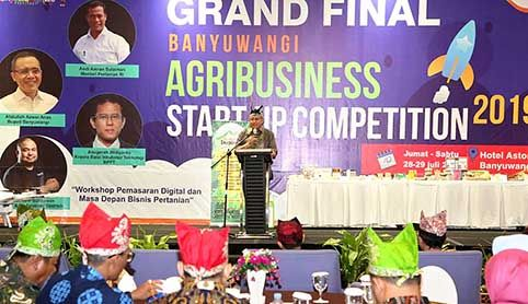 SAMBUTAN: Staf Ahli Lingkungan Pertanian Menter Pertanian Pending Dadih Permana mengatakan, ASC sejalan dengan program regenerasi pertanian yang digalakkan Kementan sejak 2015