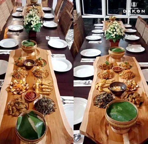 LEZAT: Salah satu pilihan menu Dakon Resto