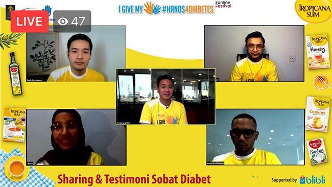 SHARING & TESTIMONI: Komunitas Sobat Diabets, berbagi tips dan pengalaman bagi penderita Diabets agar selalu menjaga pola makan dan melaksanakan pola hidup sehat.
