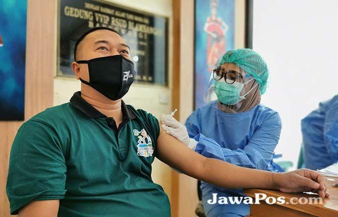 ANTISIPASI DAMPAK: MUI mengusulkan proses vaksinasi bisa dilakukan pada malam hari selama bulan Ramadan.