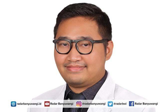 dr. Yulian Salis Patriawan, Sp.U, dokter spesialis urologi dari RSUD Genteng.