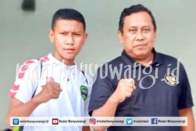 WAKIL BANYUWANGI: Striker asal klub Persip Pesanggaran Bathsya Dewa Apriliano (kiri) lolos seleksi Timnas U-16 Zona Jatim.