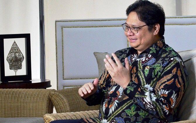 Airlangga Hartarto, Menteri Koordinator Bidang Perekonomian RI