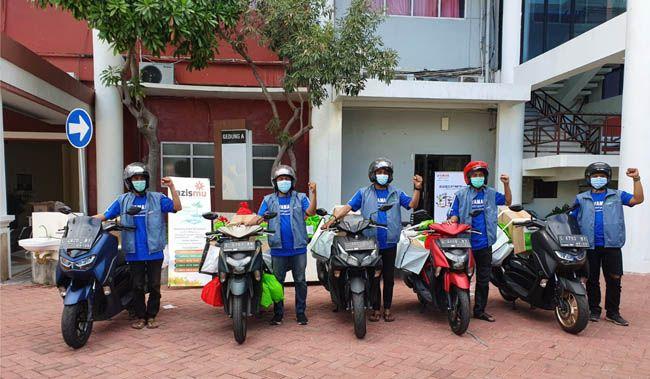 CSR YAMAHA: Yamaha Jatim memberikan dukungan kepada Universitas Muhammadiyah Surabaya berupa bantuan dana. Bantuan dana ini nantinya akan didistribusikan menjadi paket isolasi mandiri
