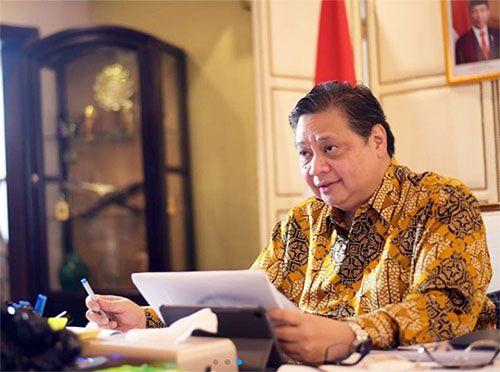 Menteri Koordinator Perekonomian Airlangga Hartanto